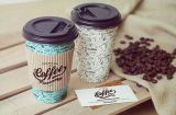 Biodegradable Disposable Bamboo Singel Wall Sugar Duck Paper Cups for Hot Coffee with PLA Coating