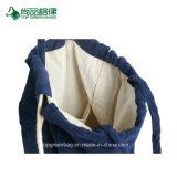 Poche de velours de double couche de qualité, sac à dos, sac de dessin