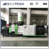 Máquina de granulación del solo tornillo de la basura del plástico del PE de los PP