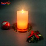 بارافين شمع لون يغيّر [لد] شمعة بدون بطارية