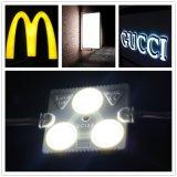 3LEDs 90lm imprägniern SMD5730 LED Baugruppe mit Objektiv für das Bekanntmachen von Signage/von Acrylfirmenzeichen-Zeichen mit 3 Jahren Garantie-