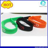 Bracelet réglable du bracelet F08 de silicones de 13.56MHz Mf 1K S50