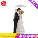 Любящий и сладостный рисунок действия венчания для поженено