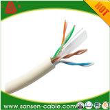 1000футов 4 пары UTP кабель локальной сети твердых баре медных кабелей с электронным управлением оранжевый LSZH CAT6