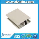 profil de guichet en aluminium de 6061 6063 Ethiopie, profil d'extrusion de guichet en aluminium