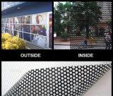 Une façon de Vinyle perforé Vision, d'un côté Voir Fenêtre imprimable autocollant vinyle