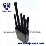 8 Jammers GPS Lojack антенны Handheld и Jammer сигнала телефона 3G 4glte 4gwimax