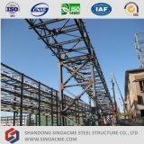 Полуфабрикат здание стальной структуры промышленное