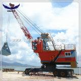Gru mobile Port con la benna della gru a benna