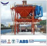 El uso del puerto de la tolva de protección del medio ambiente