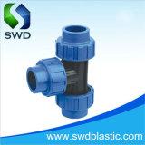 PP rápida compresión HDPE accesorios de tubería para riego la igualdad de la t