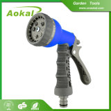 8 maneiras de pistola de spray de água de plástico de mangueira de jardim do pulverizador de Detonação