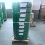 Correa de cristal automática de la protección del animal doméstico verde del rodillo enorme