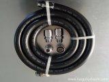 Manguera de caucho NBR trenzado general para la línea de combustible SAE J30 R6 Motos de alta presión de aceite del motor diesel de la manguera de aceite lubricante