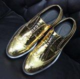 Натуральная кожа высокого класса мужчин платья обувь