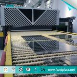 Tela plana de vidro Landglass Luoyang e uso do forno de têmpera de flexão para construção