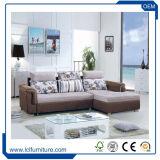 Sofà domestico del tessuto della mobilia, mobilia europea del sofà del tessuto, base di sofà moderna della Camera