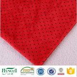 Het Fluweel van Minky van de Polyester van 100% voor de Deken van de Baby