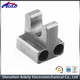 Peças de alumínio da maquinaria do CNC para o espaço aéreo