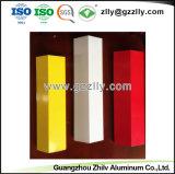 Colores de fábrica C en forma de tiras de aluminio techos decorativos