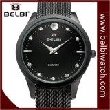 Wristwatch женщин сетноой-аналогов индикации дела способа Belbi вскользь