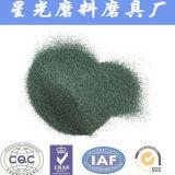 De carburo de silicio verde en polvo de arena chorro de arena de malla de 600