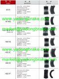 鋳造のブレーキ片659ベンツのブレーキ片6594200519のための420 04 19