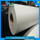 Papier de transfert de sublimation de câble du roulis enorme 100GSM de teinture