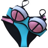Multi-Color Neopreno Nikini Playa Sexy Bra ropa interior