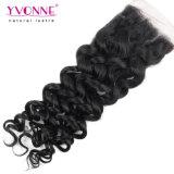 Pelo humano del encierro más barato común grande del cordón del pelo de Yvonne