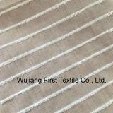 Seda Tussah mezclas de tejido de algodón hilado teñido