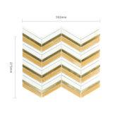Badezimmer-Wand-Dekoration farbige Glasmosaik-Fliese für Gebäude