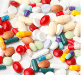 Таблетка пилюльки рибофлавина витамина B2 100mg белая улучшает кожу