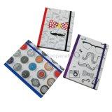Ordinateur portable de papeterie, agenda scolaire A5 à couverture rigide avec bande élastique