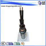 Изолированный XLPE/PVC пламенно/ добыча угля кабель питания