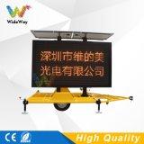 Les machines virtuelles remorque solaire écran LED de la sécurité routière de l'autoroute affichage LED