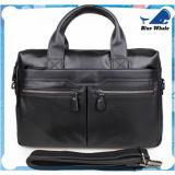 Bw265 Sac bandoulière en cuir pour hommes, sac à bandoulière sacoche pour ordinateur portable sacoche