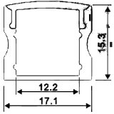 4201 Profil des Aluminium-LED für Küche-Schrank-Licht