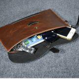 사업 암소 가죽 가방 남자 휴대용 퍼스널 컴퓨터 메신저 부대