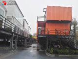호화스러운 Prefabricated 20FT 40FT 현대 디자인 일본 콘테이너 집
