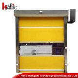 Автоматический PVC High Speed складывает вверх дверь