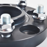 Teeze - distanziatore nero della rotella per il F-Tipo adattatori del giaguaro di 5X108
