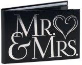 M.&Mme Album photo personnalisé de mariage, Guest Book