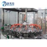 Máquina que capsula de relleno que se lava modificada para requisitos particulares del agua pura plástica de la botella