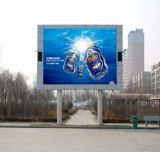 P6 SMD Publicidade de poupança de energia Ecrã LED de exterior