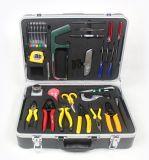 Lleno-Fijar las herramientas que empalman de la fusión de la fibra