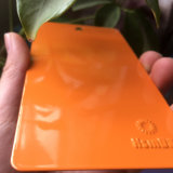 Ral2009 높은 광택 에폭시 폴리에스테 주황색 분말 코팅