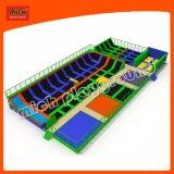 China-preiswerte Innengymnastik-Trampoline-springendes Bett