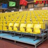 Blanqueador al aire libre de aluminio del blanqueador desmontable al aire libre de los blanqueadores del andamio del acontecimiento del fabricante Jy-716, blanqueadores usados sistema del asiento de la gimnasia que asientan para la venta