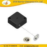 Multiuso cuadrado Expositor de sujeción de las fuerzas de seguridad retráctil Max 2.5lb/ La longitud del cable Max 400cm.